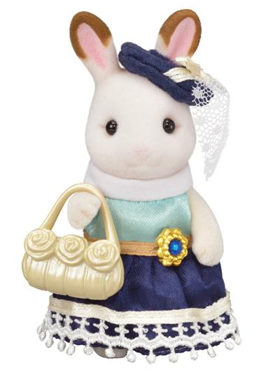 Sylvanian Families Town Girl Series - Chocolate Rabbit - McGreevy's Toys Direct