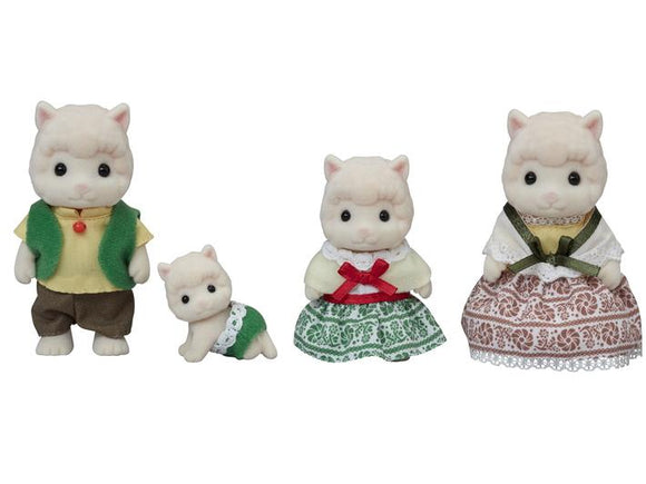 Sylvanian Families Woolly Alpaca Family - McGreevy's Toys Direct