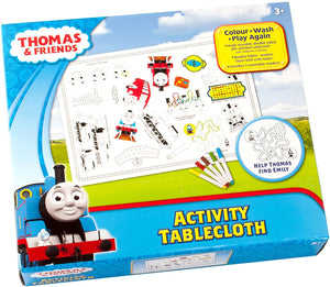 Thomas & Friends Giant Activity Tablecloth - McGreevy's Toys Direct