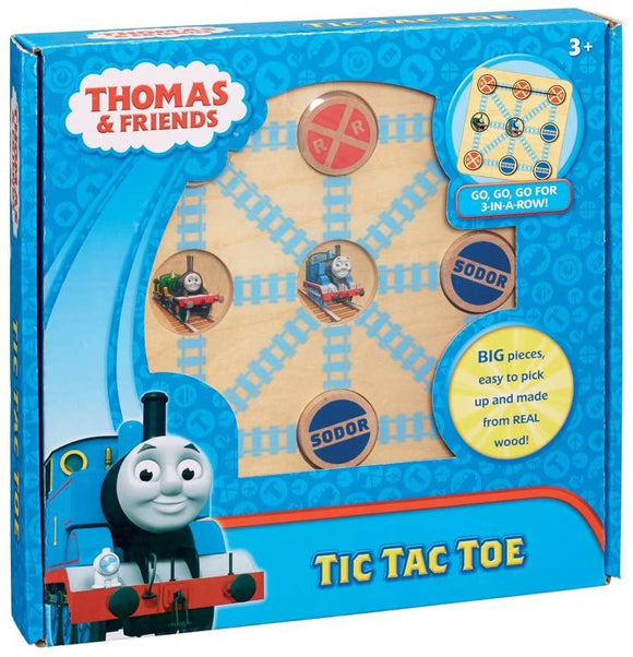 Thomas & Friends Wooden Tic Tac Toe - McGreevy's Toys Direct
