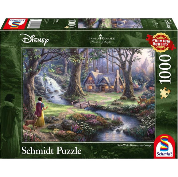 Thomas Kinkade: Disney Snow White 1000 Piece - McGreevy's Toys Direct