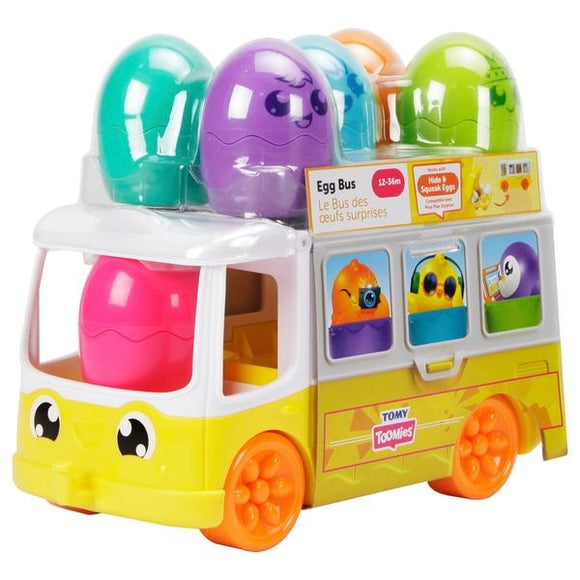 TOMY Toomies Egg Bus - McGreevy's Toys Direct