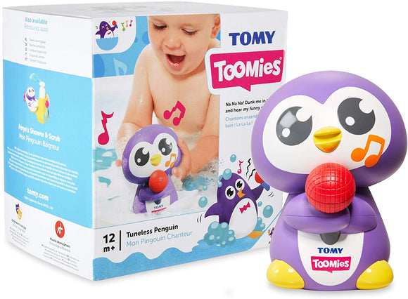 TOMY Toomies Tuneless Penguin - McGreevy's Toys Direct