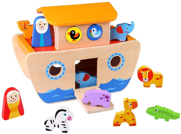 TOOKY TOY Noah's Ark - McGreevy's Toys Direct