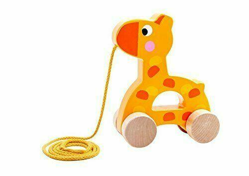 TOOKY TOY Pull Along Giraffe - McGreevy's Toys Direct