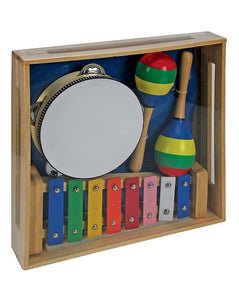 TOOKY TOY Wooden Plain Musical Set - McGreevy's Toys Direct