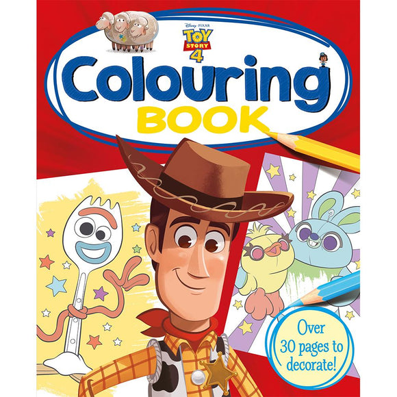 Toy Story 4 Colouring Book - McGreevy's Toys Direct