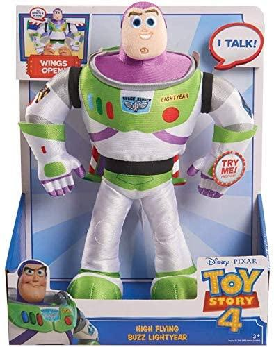 Toy Story 4 High Flying Buzz Lightyear Action Plush - McGreevy's Toys Direct