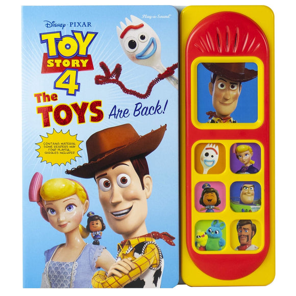 Toy Story 4: The Toys are Back! Sound Book - McGreevy's Toys Direct