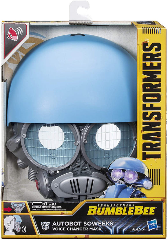 Transformers Voice Changer Mask - Autobot Sqweeks - McGreevy's Toys Direct