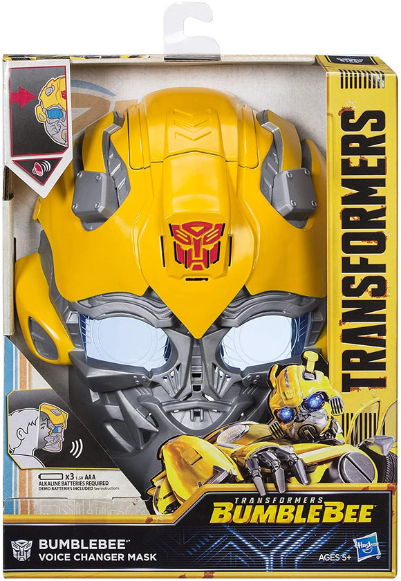 Transformers Voice Changer Mask - Bumblebee - McGreevy's Toys Direct