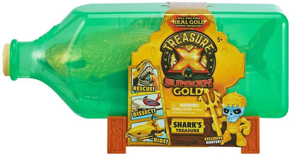 Treasure X Sunken Gold Shark's Treasure - McGreevy's Toys Direct