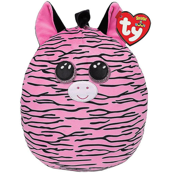 TY Squish-A-Boo 31cm Zoey Zebra - McGreevy's Toys Direct