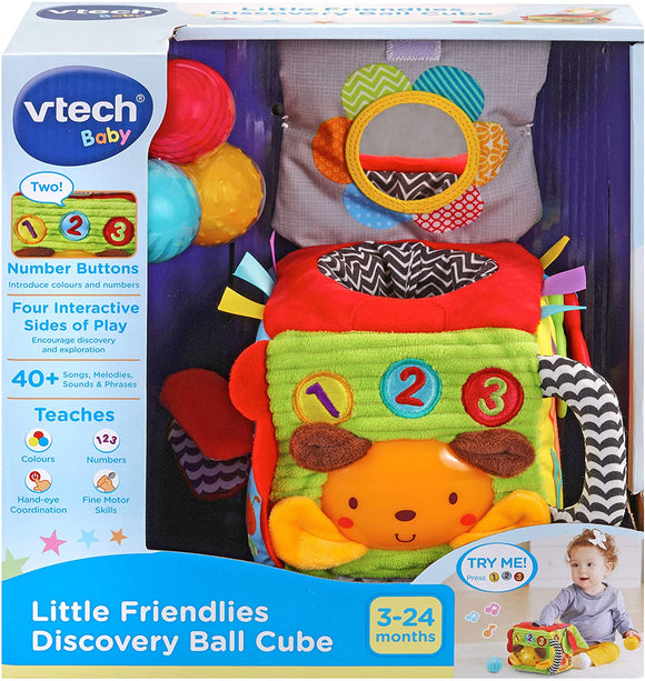 VTech Baby Little Friendlies Discovery Ball Cube - McGreevy's Toys Direct