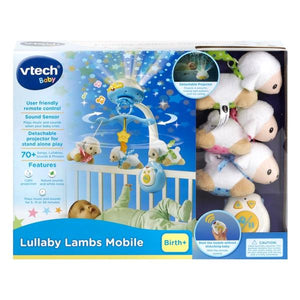 Vtech Baby Lullaby Lambs Mobile - McGreevy's Toys Direct