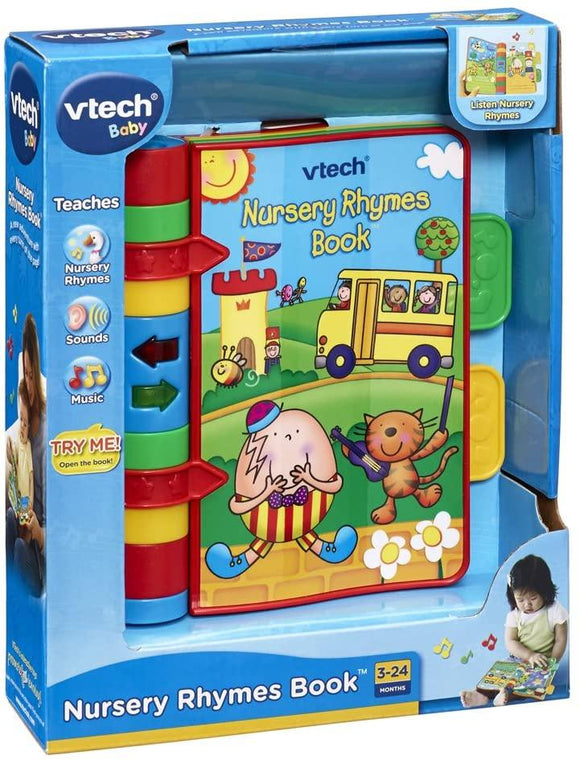 VTech Baby Nursery Rhymes Book - McGreevy's Toys Direct