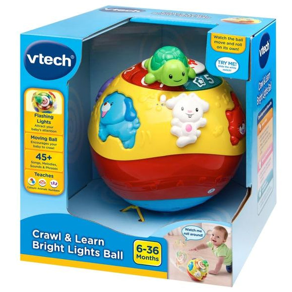 VTech Crawl & Learn Bright Lights Ball - McGreevy's Toys Direct