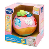 VTech Crawl & Learn Bright Lights Ball - Pink - McGreevy's Toys Direct