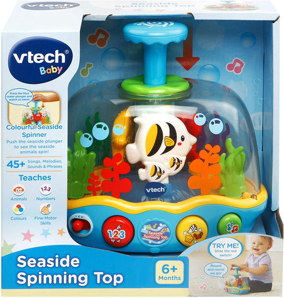 VTech Seaside Spinning Top - McGreevy's Toys Direct