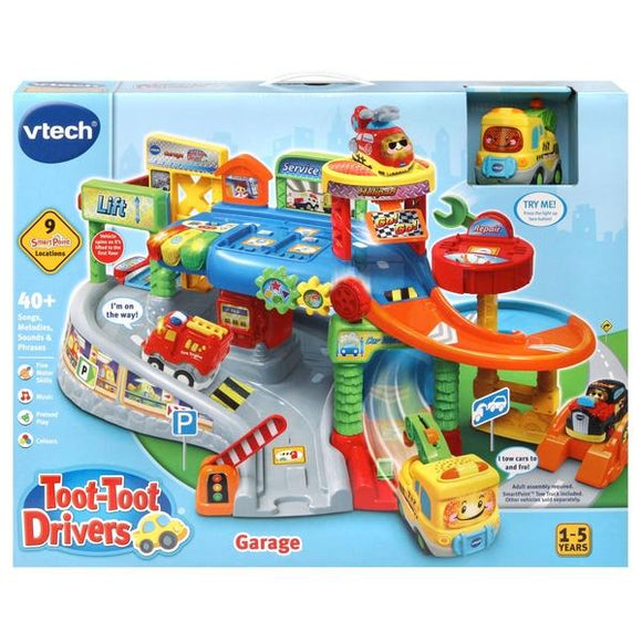 VTech Toot-Toot Drivers Garage - McGreevy's Toys Direct