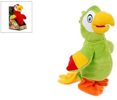 Walking & Talking Tiki the Parrot, Assorted - McGreevy's Toys Direct