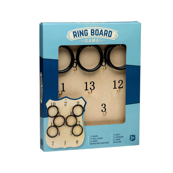 Wooden Ring Board - McGreevy's Toys Direct