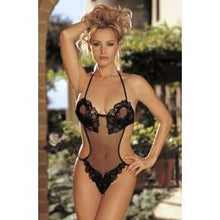 Load image into Gallery viewer, Shirley of Hollywood SoH 20443 Sequin Teddy Black