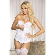 Load image into Gallery viewer, Shirley of Hollywood SoH 25953 Corset Top White Wh