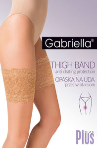Lace Thigh Band Ecru (Ivory)