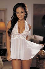 Load image into Gallery viewer, Shirley of Hollywood SoH-HL 96164 Babydoll White One Size