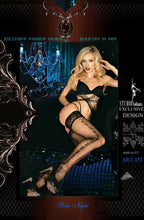 Load image into Gallery viewer, Ballerina 452 Hold Ups Nero (Black)