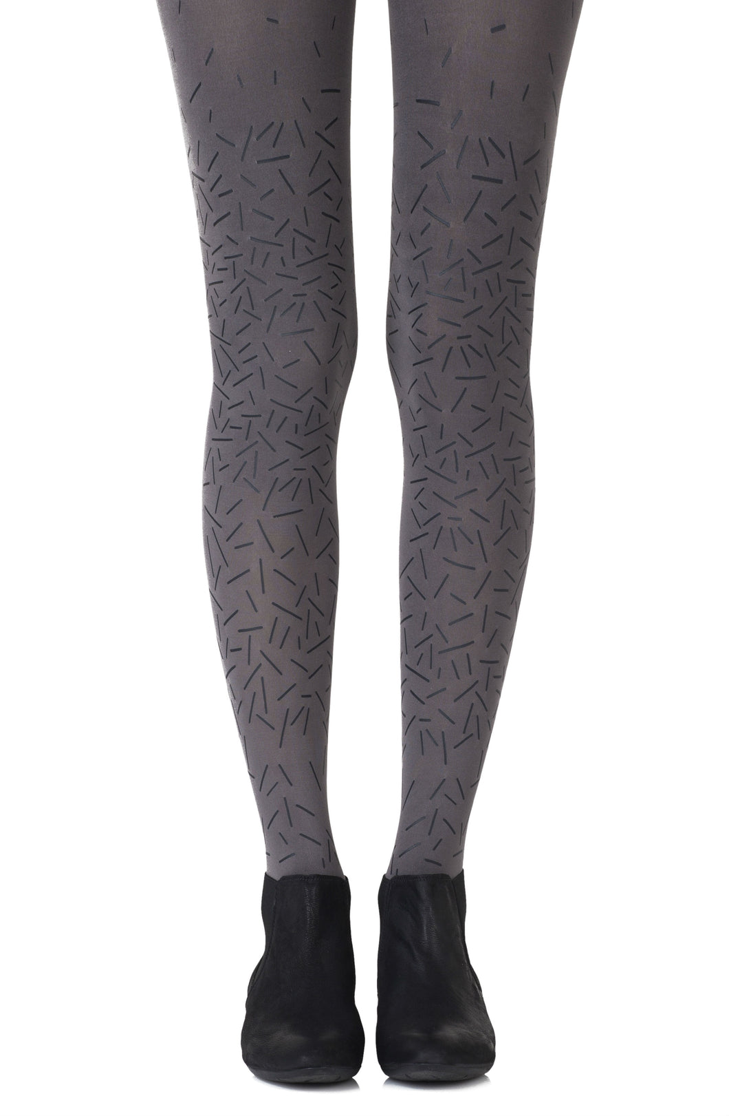 "Zohara ""Party Starter"" Grey Tights"