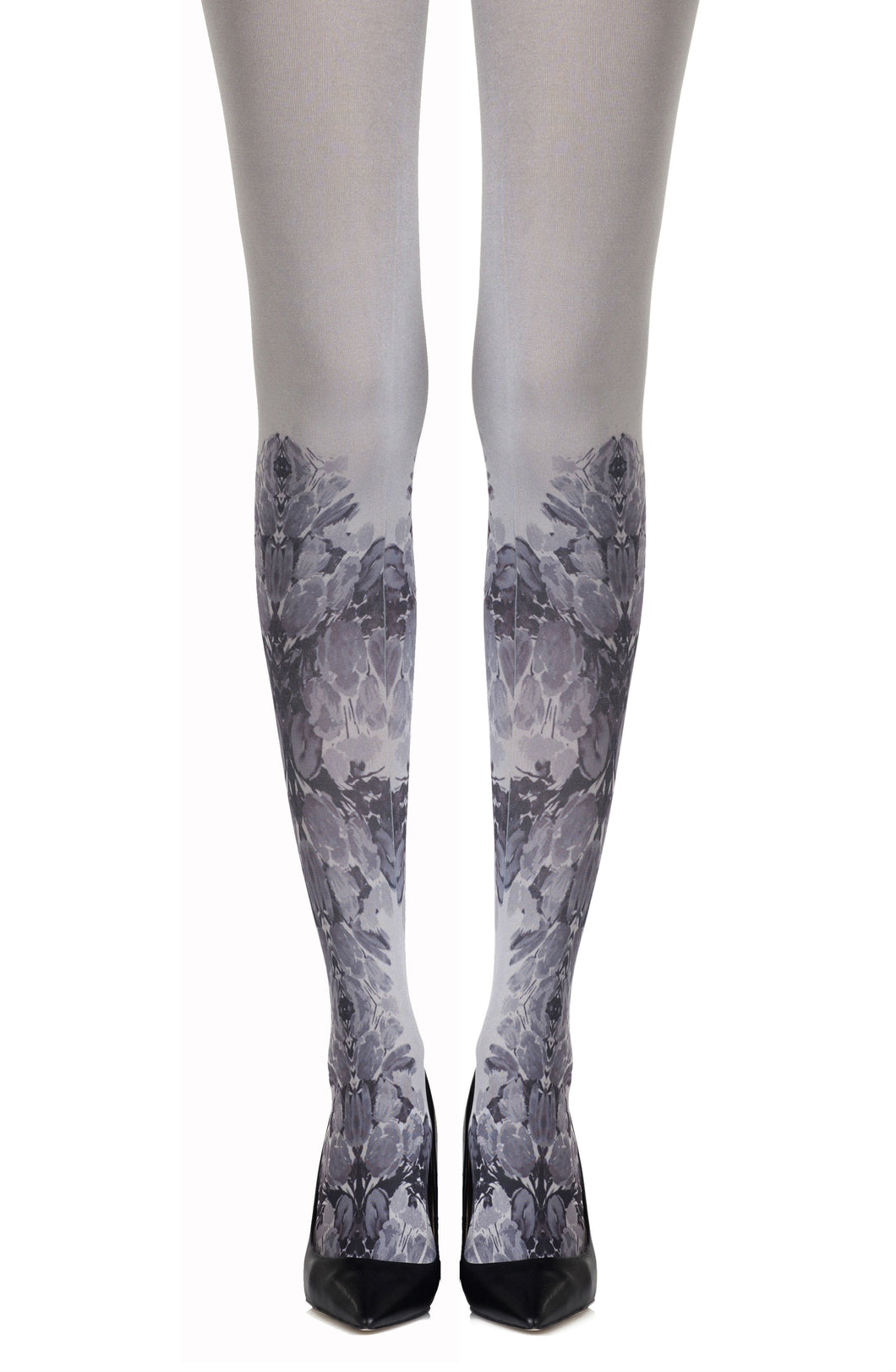 "Zohara ""Totally Tulip"" Grey Tights"