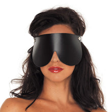 Load image into Gallery viewer, Leather Blindfold