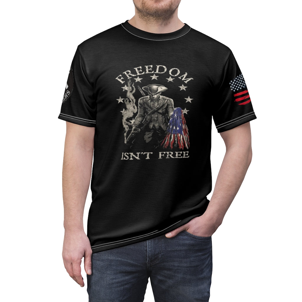 FULL SEND PATRIOT SHIRT IN FULL COLOR PRINT ALL AROUND