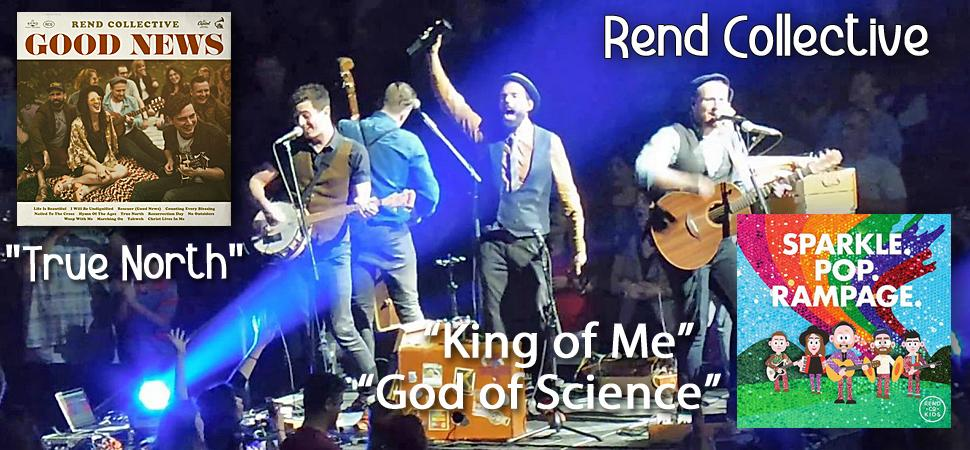 Rend Collective - song titles