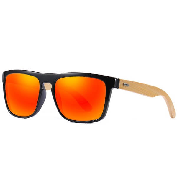 lunette-de-soleil-bois-cool-kdeam-france-rouge