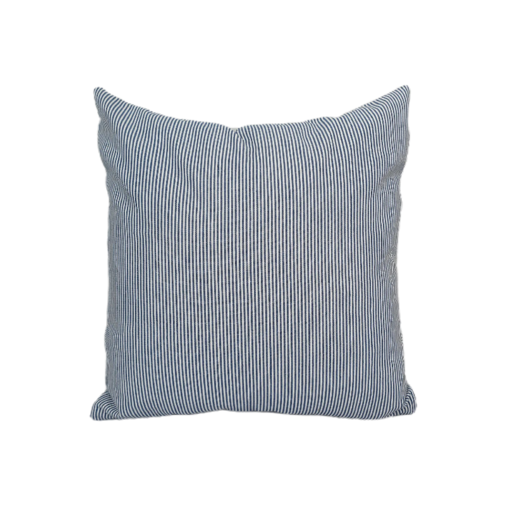 Blue Striations Cushion