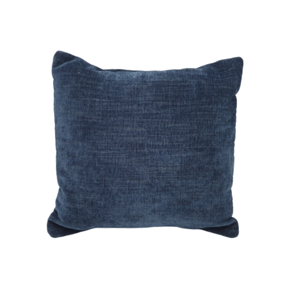 Velvet Cushion - Navy