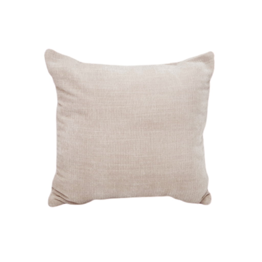 Velvet Cushion - Oatmeal
