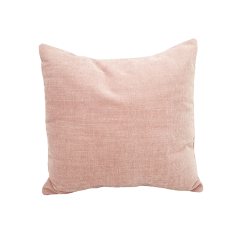 Velvet Cushion - Blush
