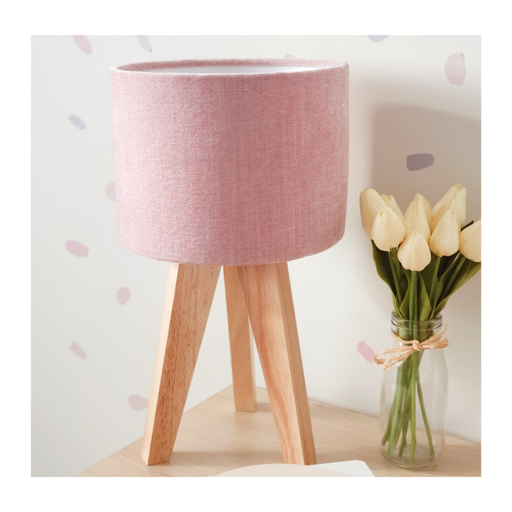 Velvet Blush - Lamp Blanket Combo
