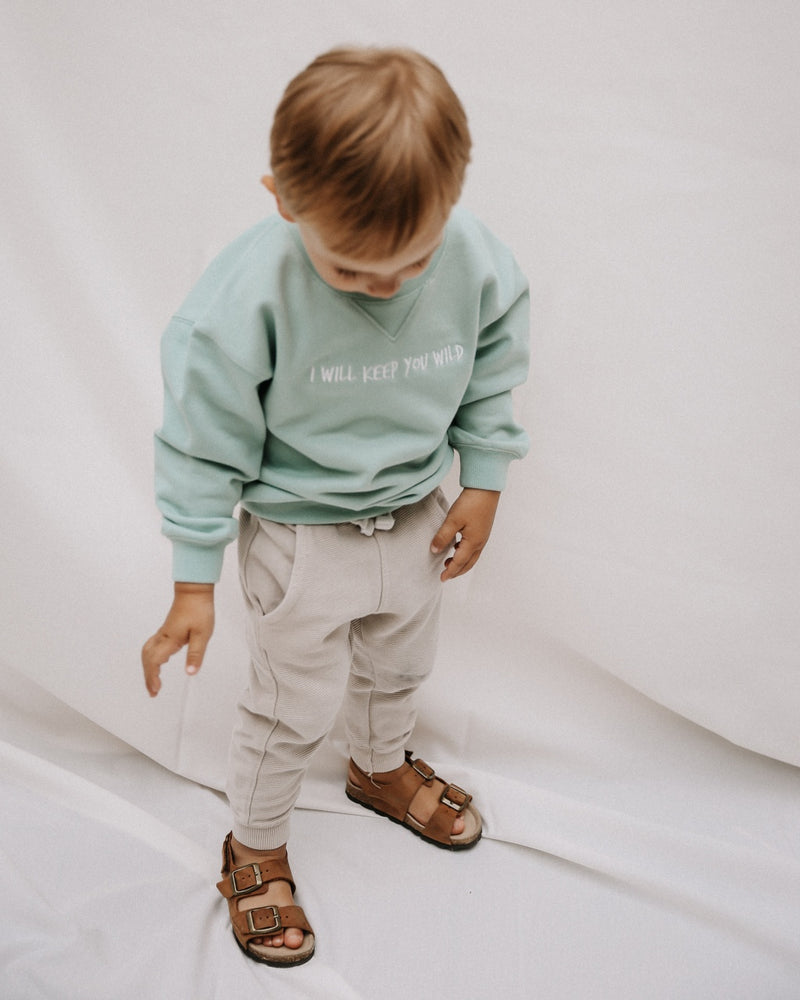 KEEP YOU Damen & Kids Sweatshirt - mint - fam vibes