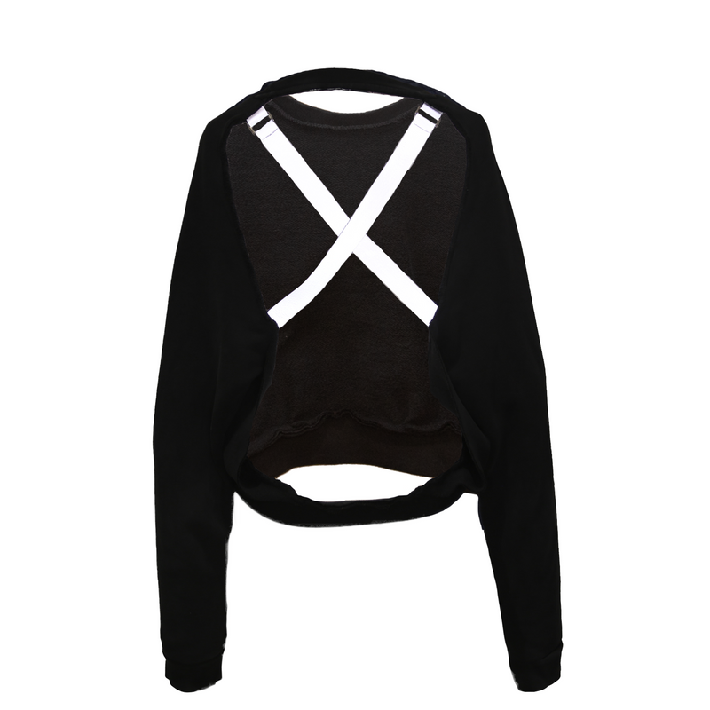 ADIDAS OPEN BACK CREW NECK CROP