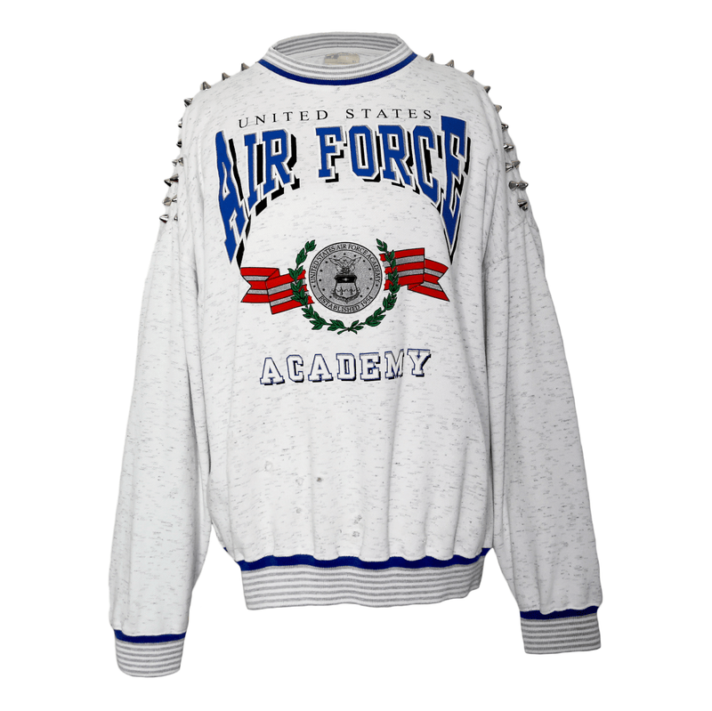 AIR FORCE STUD CREW NECK