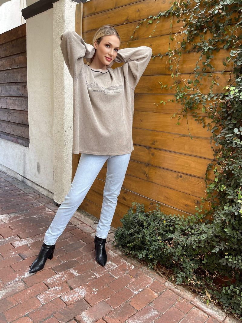 Maelo Crew Neck HARLEY THERMAL LONG SLEEVE