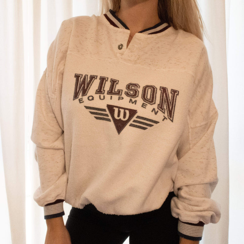 WHAT ABOUT WILSON CREWNECK