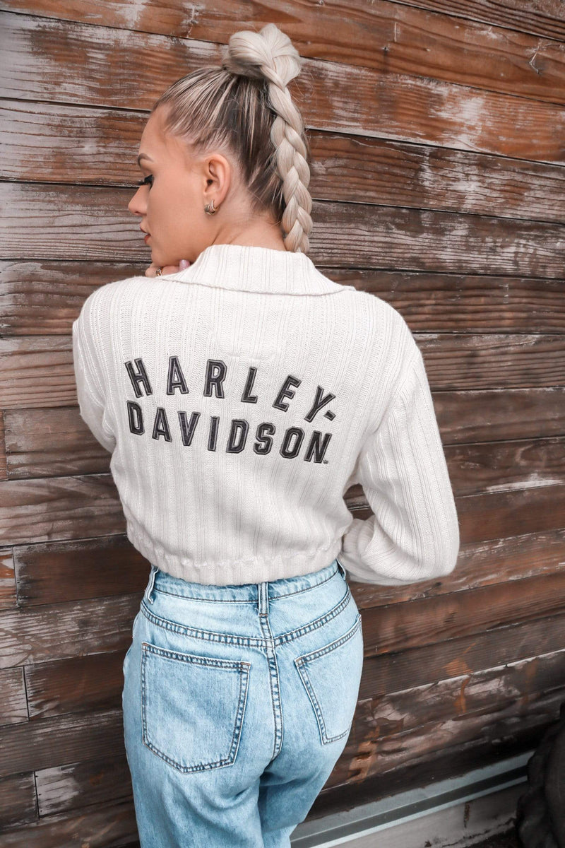 HARLEY SWEATER CROP