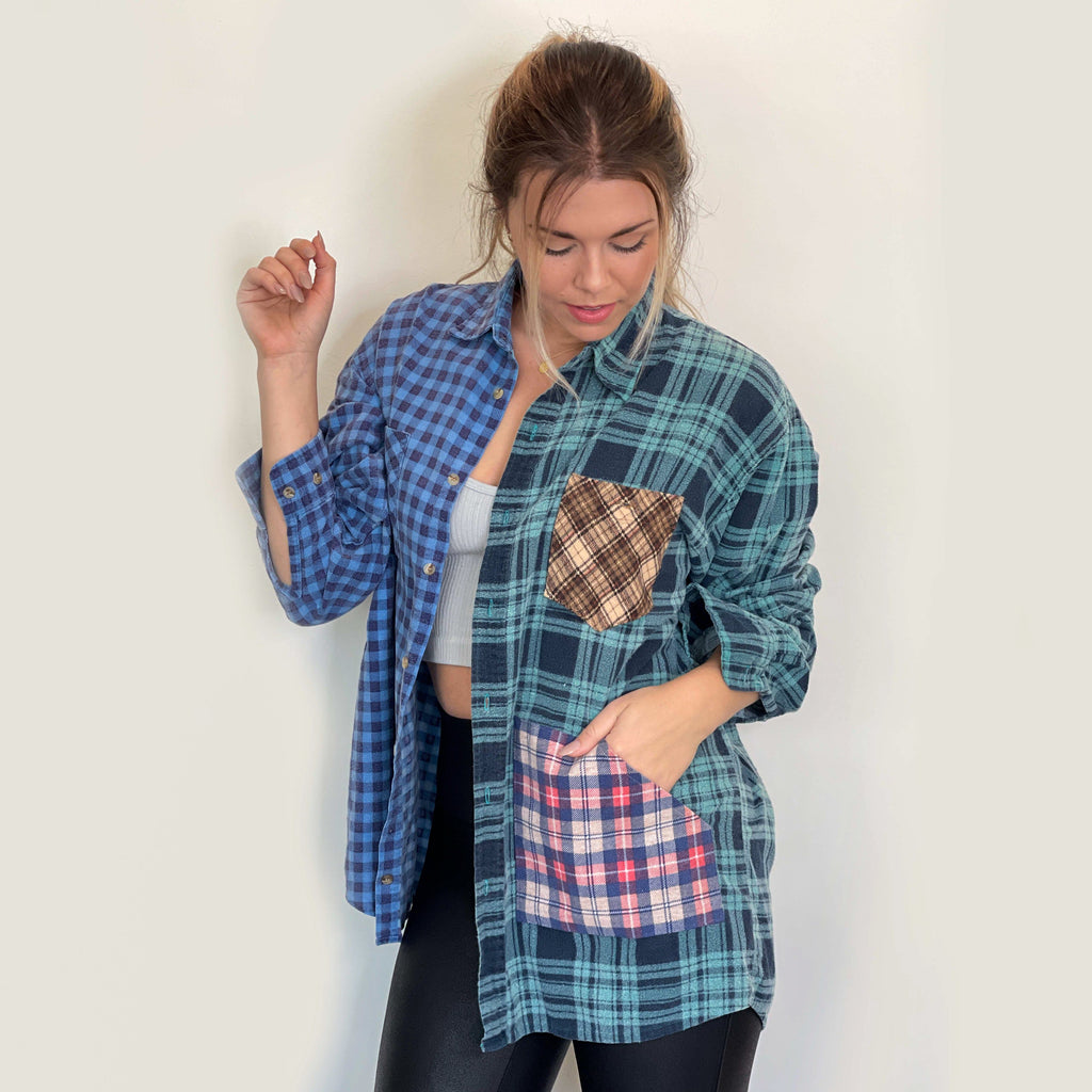 Maelo Flannel MIXTILE FLANNEL SHIRT