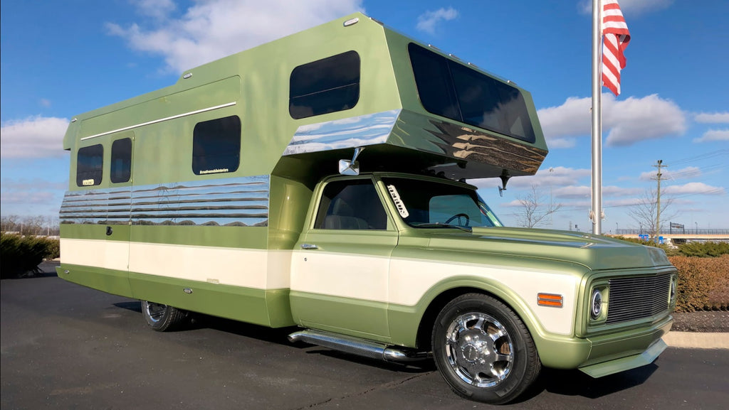 1972 CHEVROLET C30 CUSTOM CAMPER